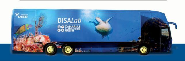 """DISAlab """"Canarias: Laboratorio Marino"""" en el IES Santa Lucía"""